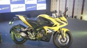 Bajaj Pulsar RS200 Yellow side view at Launch