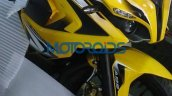 Bajaj Pulsar RS200 front right three quarters latest images from dealership