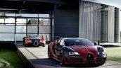 Bugatti Veyron Grand Sport Vitesse La Finale with the 1st Veyron press image
