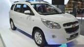Chevrolet Spin front three quarter at the 2015 Bangkok Motor Show
