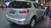 Chevrolet Trailblazer rear three quarter angle at the 2015 Bangkok Motor Show