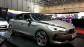 DS 5 Moon Dust front quarter at 2015 Geneva Motor Show