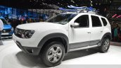 Dacia (Renault) Duster AWD 125 TCe front three quarter(2) view at 2015 Geneva Motow Show
