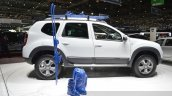 Dacia (Renault) Duster AWD 125 TCe side view at 2015 Geneva Motow Show