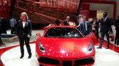 Ferrari 488 GTB front at the 2015 Geneva Motor Show