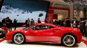 Ferrari 488 GTB side view at the 2015 Geneva Motor Show