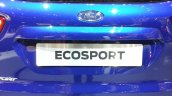 Ford EcoSport S rear door at the 2015 Geneva Motor Show