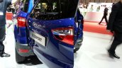 Ford EcoSport S rear door open at the 2015 Geneva Motor Show