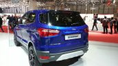 Ford EcoSport S rear three quarters left at the 2015 Geneva Motor Show
