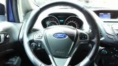 Ford EcoSport S steering wheel at the 2015 Geneva Motor Show