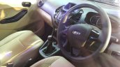 Ford Figo Aspire dashboard from the Indian premiere