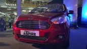 Ford Figo Aspire front fascia from the Indian premiere