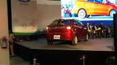 Ford Figo Aspire rear three quarters at the Sanand plant