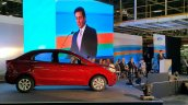 Ford Figo Aspire side at the Sanand plant