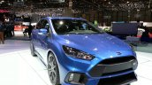 Ford Focus RS front three quarters left view at the 2015 Geneva Motor Show
