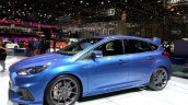 Ford Focus RS front three quarters right view at the 2015 Geneva Motor Show