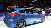 Ford Focus RS rear three quarters right at the 2015 Geneva Motor Show