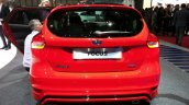 Ford Focus Red Edition rear at the 2015 Geneva Motor Show