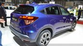 Honda HR-V rear three quarter view at 2015 Geneva Motor Show