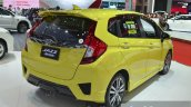 Honda Jazz with Modulo accessories rear three quarters at the 2015 Bangkok Motor Show