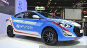 Hyundai Elantra Sports Concept front three quarter at the 2015 Bangkok Motor Show