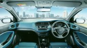 Hyundai i20 Active Blue interior press shots