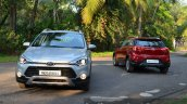 Hyundai i20 Active Diesel front and rear Review