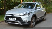 Hyundai i20 Active Diesel front quarter view Review