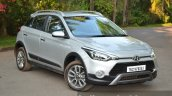 Hyundai i20 Active Diesel front quarters Review