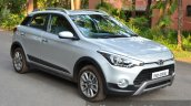 Hyundai i20 Active Diesel front three quarter Review