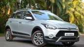 Hyundai i20 Active Diesel front three quarters Review