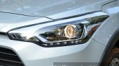 Hyundai i20 Active Diesel headlight cluster Review