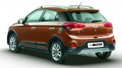 Hyundai i20 Active rear quarters press shots