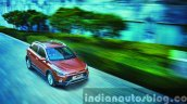 Hyundai i20 Active tracking press shots