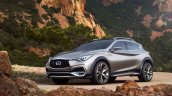 Infiniti QX30 Concept in the open
