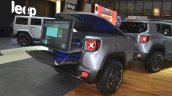 Jeep Renegade Hard Steel Concept trailer rear view