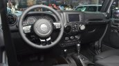 Jeep Wrangler Black Edition II dashboard at the 2015 Geneva Motor Show