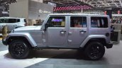 Jeep Wrangler Black Edition II side view at the 2015 Geneva Motor Show