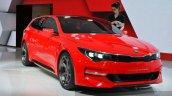 Kia Sportspace Concept front three quarter(2) view at 2015 Geneva Motor Show
