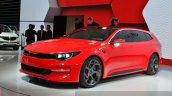 Kia Sportspace Concept front three quarter(3) view at 2015 Geneva Motor Show