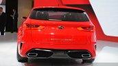 Kia Sportspace Concept rear view at 2015 Geneva Motor Show