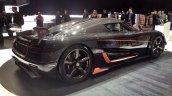 Koenigsegg Agera RS rear three quarters leak Geneva Motor Show 2015