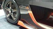 Koenigsegg Agera RS wheel leak Geneva Motor Show 2015