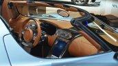 Koenigsegg Regera dashboard passenger side at the 2015 Geneva Motor Show
