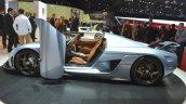Koenigsegg Regera side door open at the 2015 Geneva Motor Show