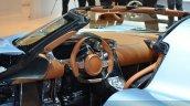 Koenigsegg Regera steering wheel at the 2015 Geneva Motor Show