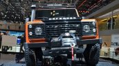 Land Rover Defender Adventure Edition front at the 2015 Geneva Motor Show