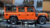 Land Rover Defender Adventure Edition side at the 2015 Geneva Motor Show