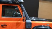 Land Rover Defender Adventure Edition snorkel at the 2015 Geneva Motor Show