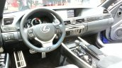 Lexus GS F dashboard at the 2015 Geneva Motor Show